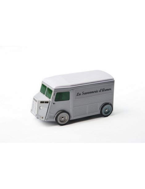 """La camionnette publicitaire """"La Savonnerie d'Armor"""""""