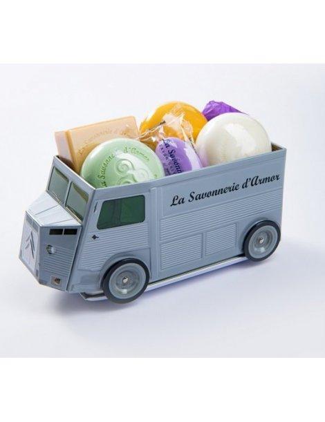 Camionnette de savons La Savonnerie d'Armor