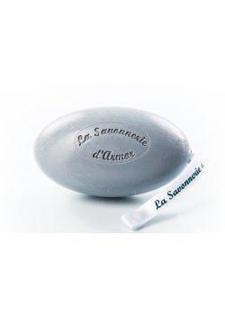 Savon cordelette gris, sel de Guérande, parfum Embruns, 200g